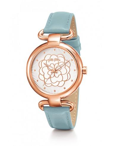Reloj Folli Follie Santorini Flower WF15R030SPW-BLUE